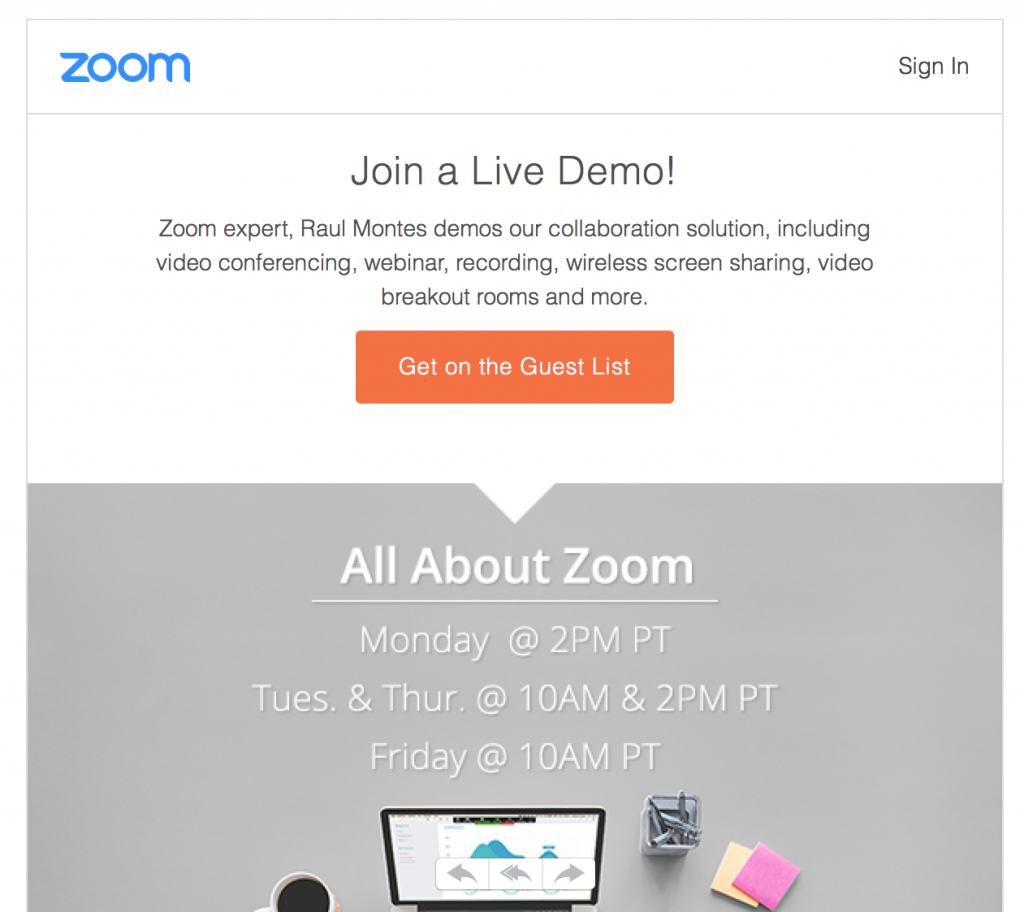 12 Call-To-Action Examples That Convert | EmailOut.com - free email marketing software